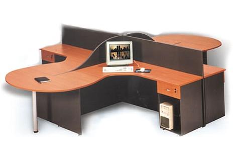 L nea muebles oficina perimetral ebano muebles for Oficina genesis