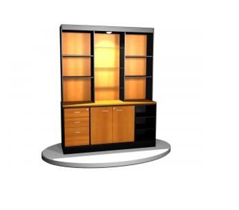 L nea muebles oficina gabinetes ebano muebles for Oficina genesis