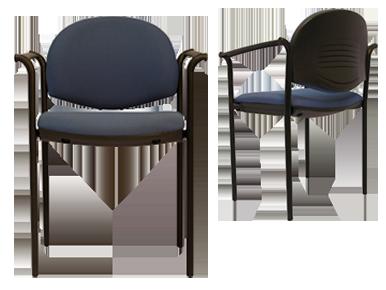 Sillas de visita 850 870 ebano muebles muebles en for Sillas de visita para oficina