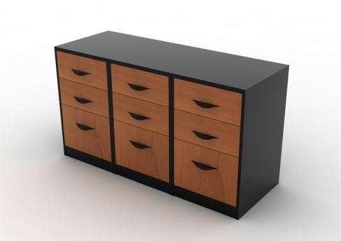 L nea muebles oficina cajoneras ebano muebles for Muebles de ebano