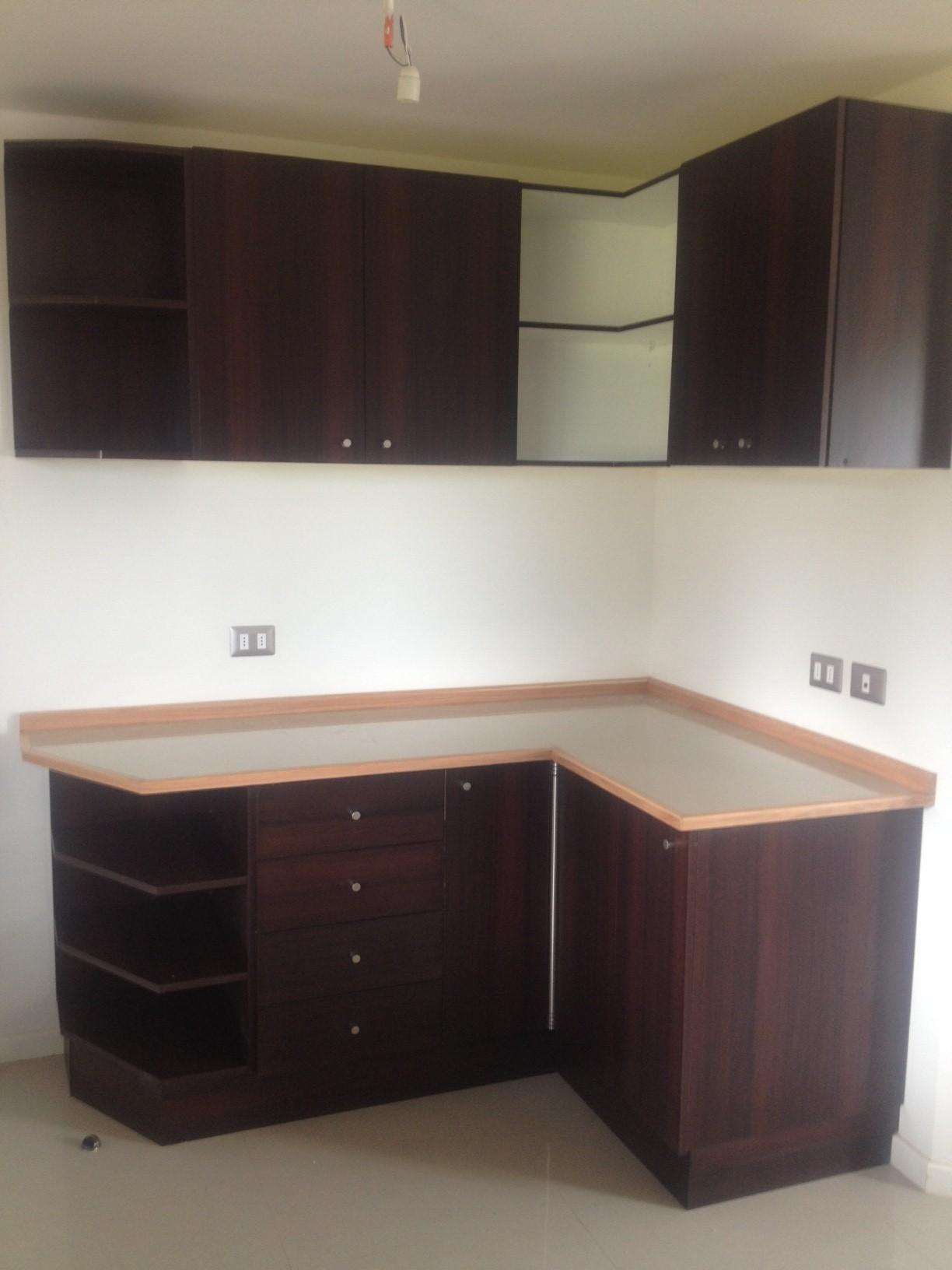 L nea hogar muebles de cocina ebano muebles muebles for Muebles de cocina para montar