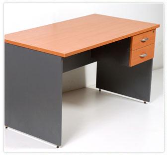 L nea muebles oficina escritorios ebano muebles for Muebles de escritorio para oficina
