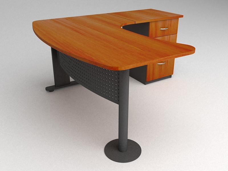 L nea muebles oficina estaciones de trabajo ebano for Muebles de oficina chile