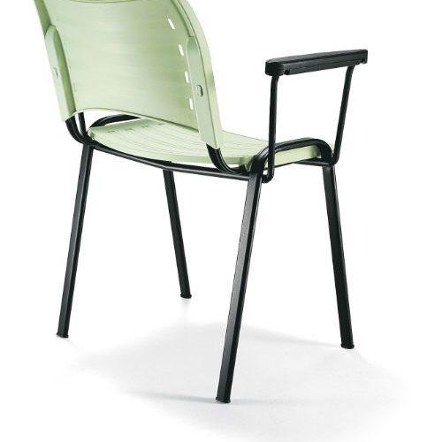 Sillas de visita iso smart ebano muebles muebles en for Sillas de visita para oficina