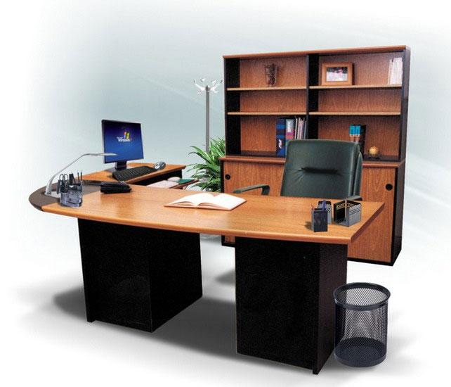 L nea muebles oficina oficinas ebano muebles muebles for Muebles de oficina blancos