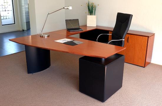 L nea muebles oficina oficinas ebano muebles muebles for Dimensiones de escritorios de oficina