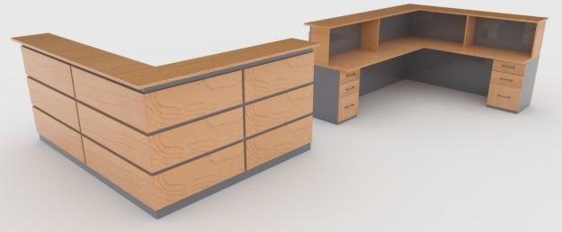 Muebles Para Recepcion De Oficinas : Línea muebles oficina gt mueble de recepción ebano