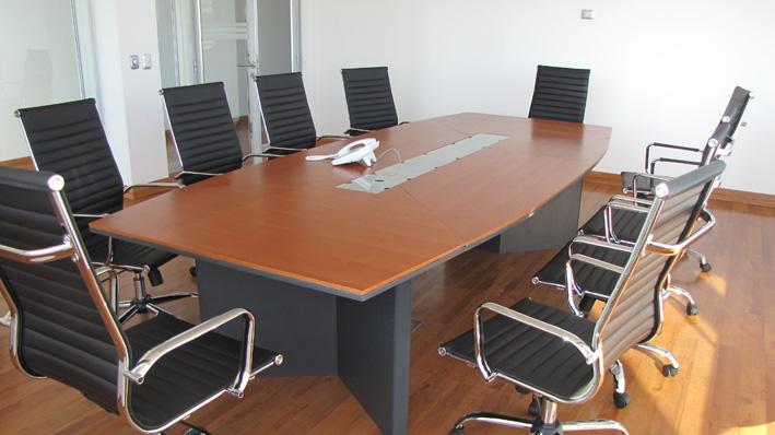 l nea muebles oficina mesa de reuni n ebano muebles